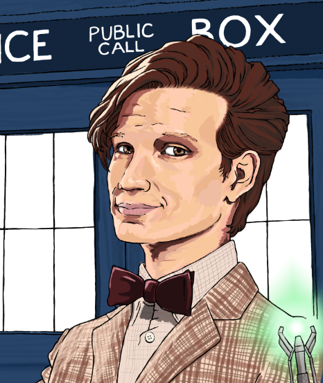 Christmas gift commission: Dr. Who